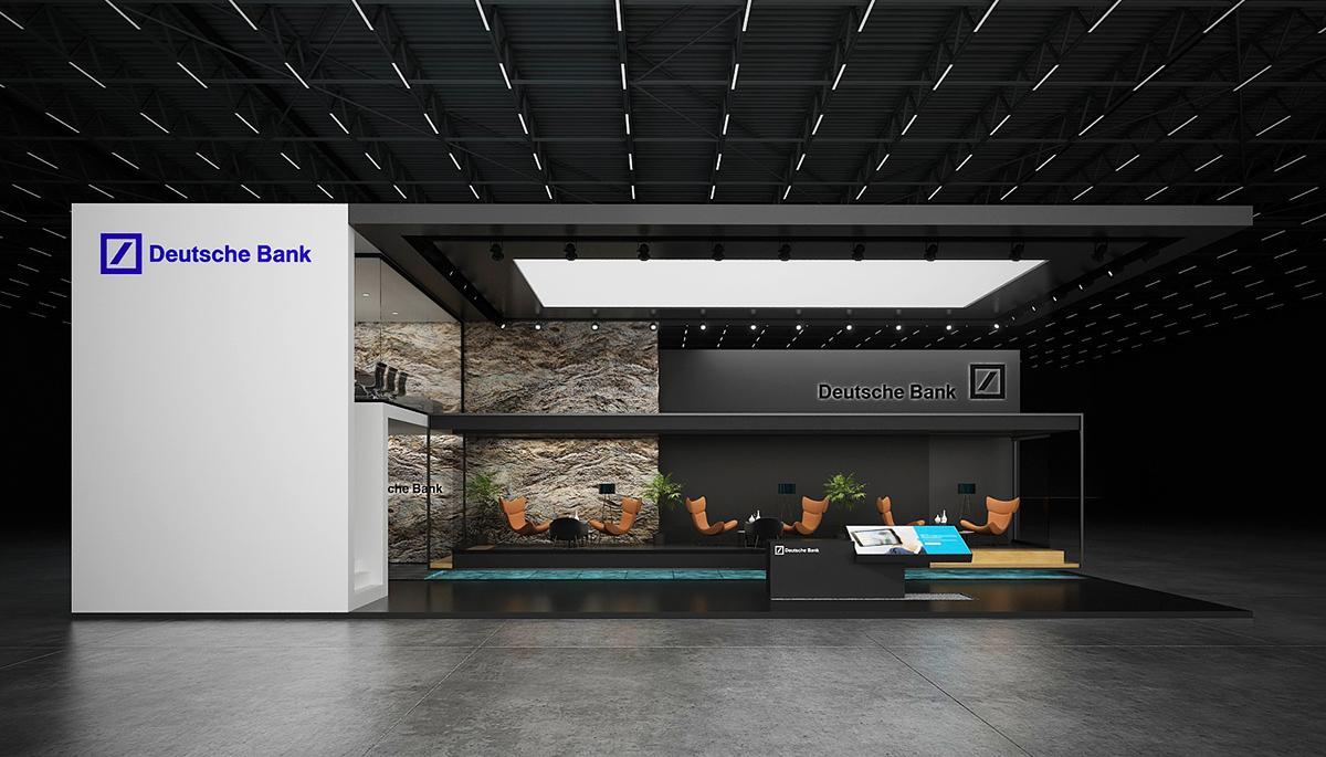 * Deutsche bank *exhibition stand * on Behance