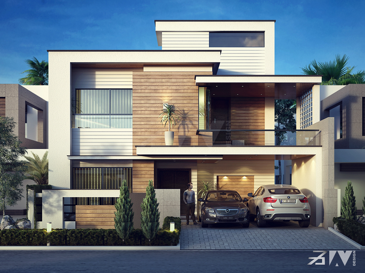 Front Elevation Of House For Small Houses : A house on behance