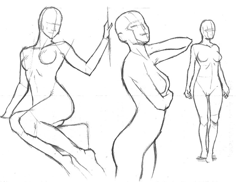 There are still a lot more to learn about drawing the human figure so stick around and enjoy the ride