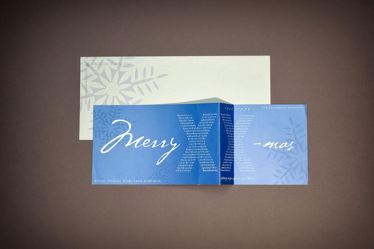 card print design Christmas Varnish metallic