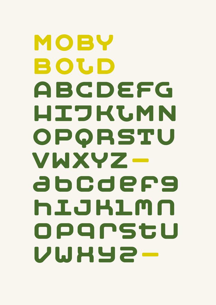Typeface Moby typedesign type felix braden typekit techno monospace typewriter font Display floodfonts free freefont freeware