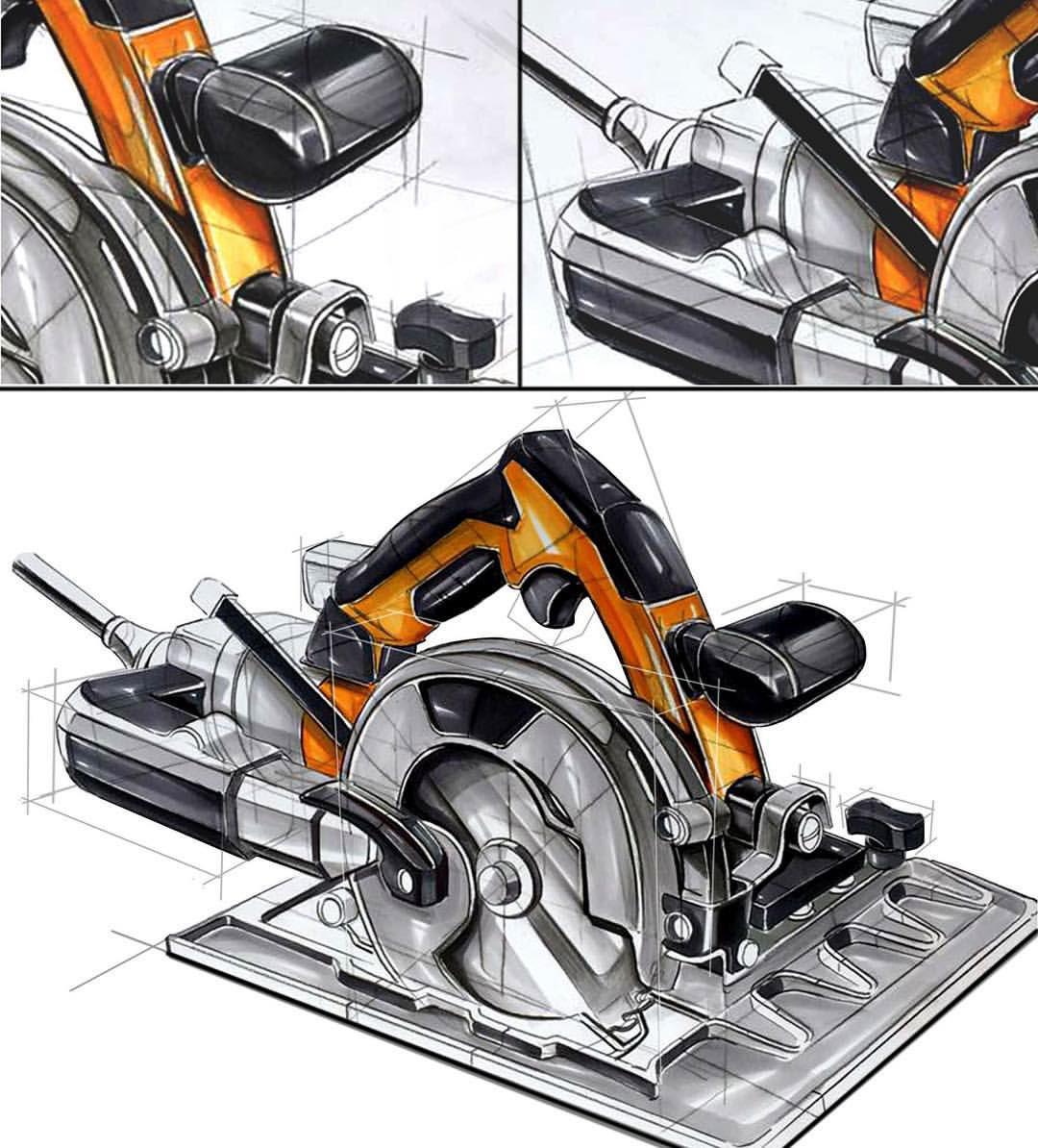 industrail design sketch marker rendering tutorial on behance. Black Bedroom Furniture Sets. Home Design Ideas