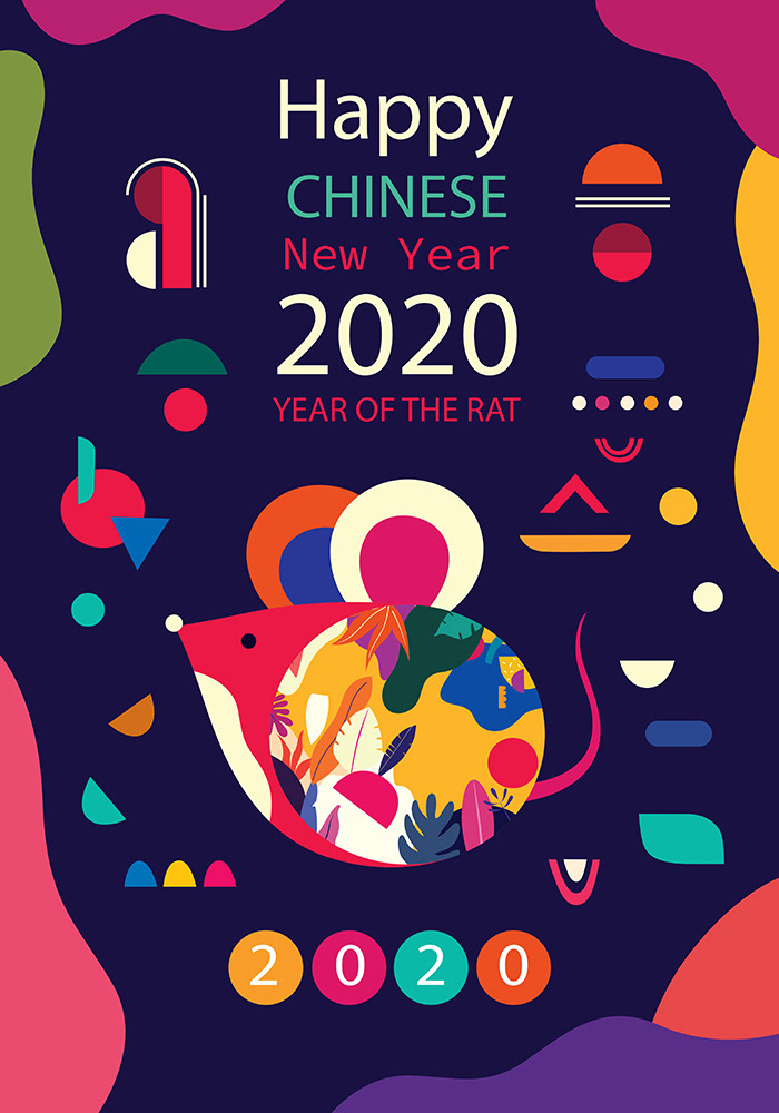 Happy Chinese New Year 2020 on Behance