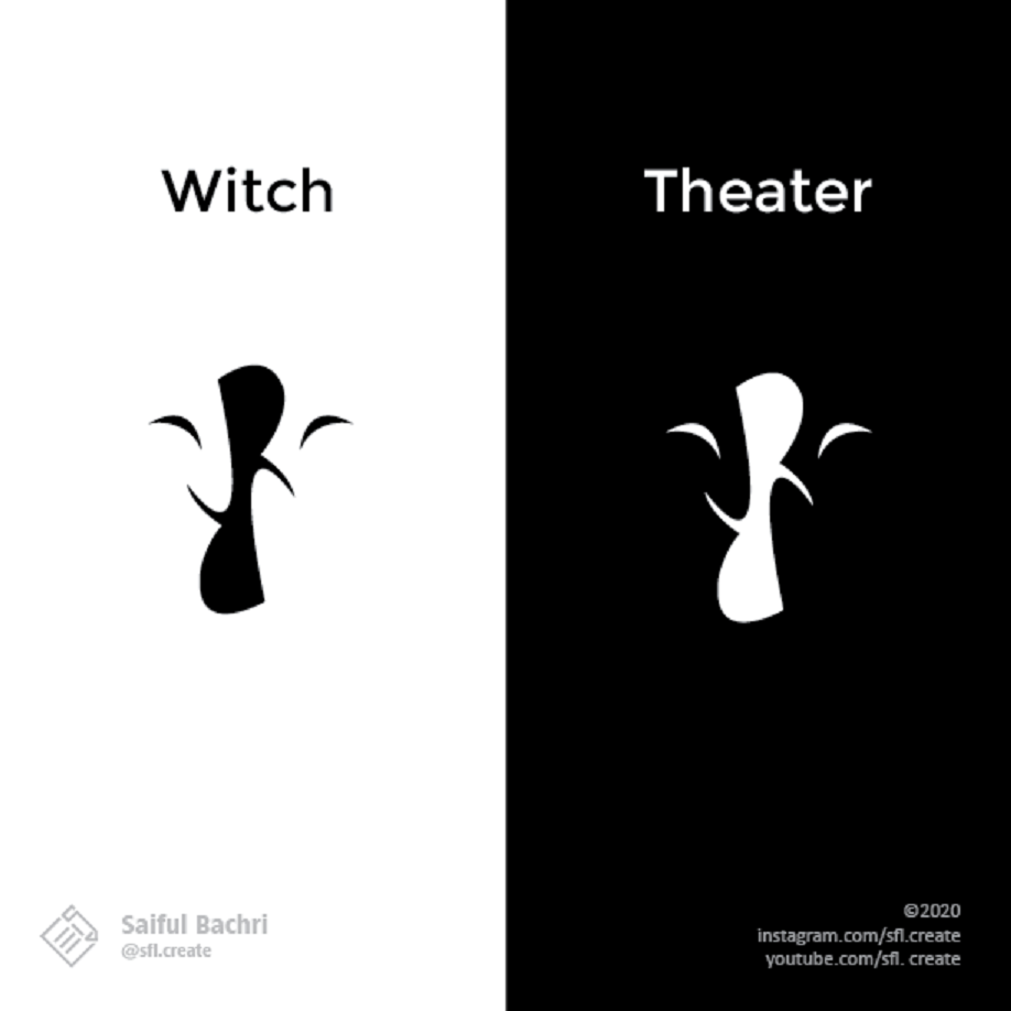 art logo logodesign Magic   witch