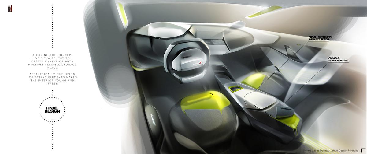 Dodge dart interior design project fall 2014 on ccs portfolios - Interior design students for hire ...