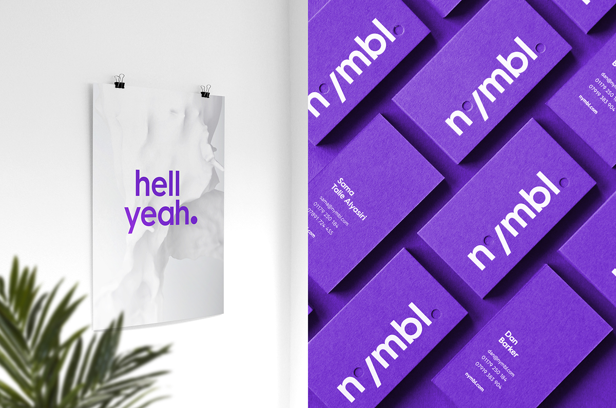 brand identity Stationery graphic purple colorplan business card Business Cards responsive website logo visual identity identity Rebrand poster mobile UI