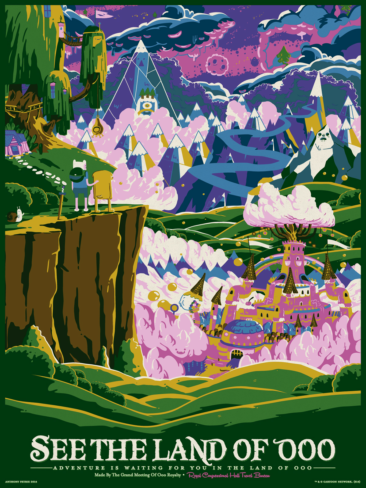 See the Land of Ooo