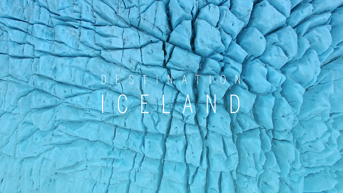 iceland Travel Aerial 4K Film   movie GLACIAL LAGOON islande Photography  photographer