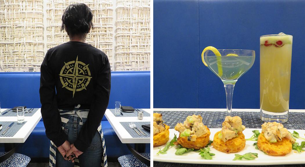 ALL SET, Seafood Restaurant, Logo Design, Restaurant Branding, Silver Spring, MD