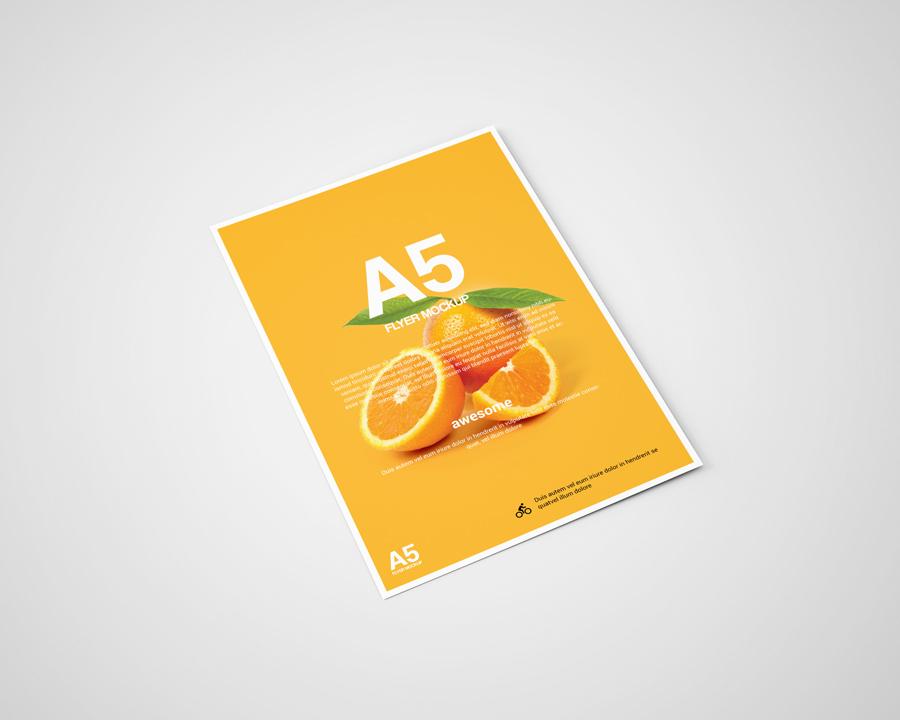 A5 Flyer Mockup On Behance