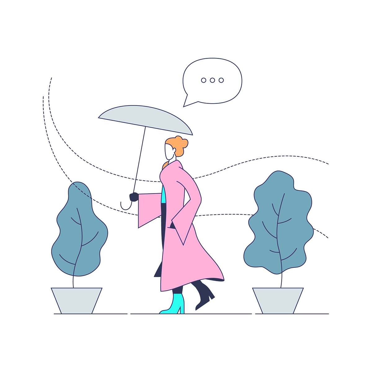 character illustration digital illustration ILLUSTRATION  illustration set
