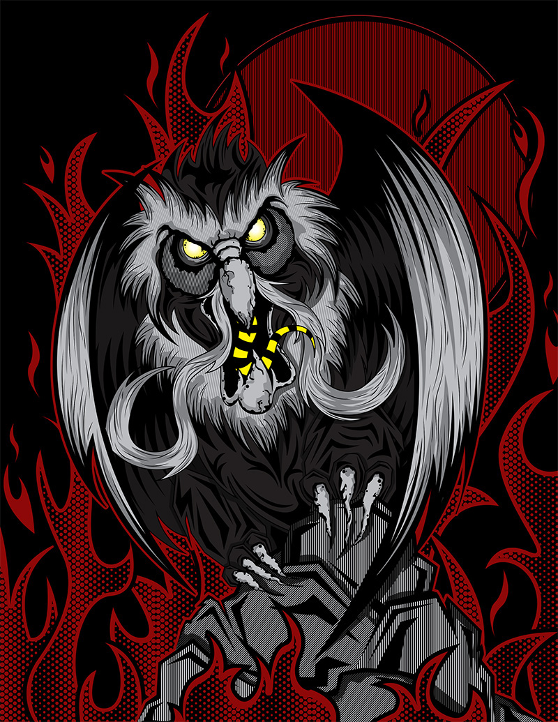 The Great Owl Secret Of Nimh On Behance