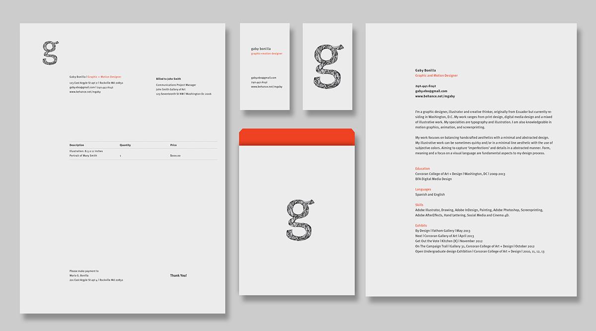 brand identity Self Promotion Logo Design logos logo print business card art line invoice Resume envelope typography design custom made type