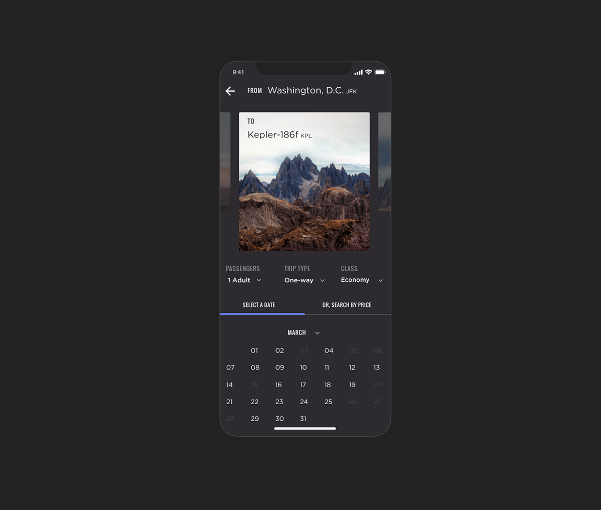 SPACEDchallenge spaced #SPACEDchallenge app Travel App Booking user experience Epicurrence