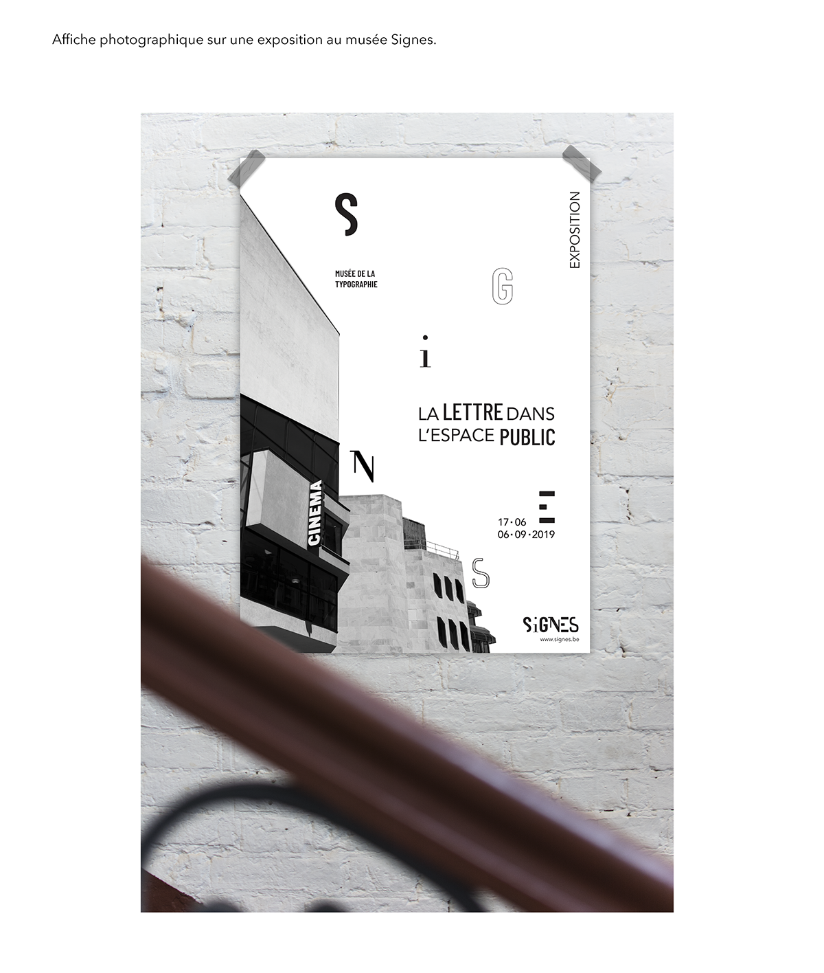 Signes Musée De La Typographie On Behance