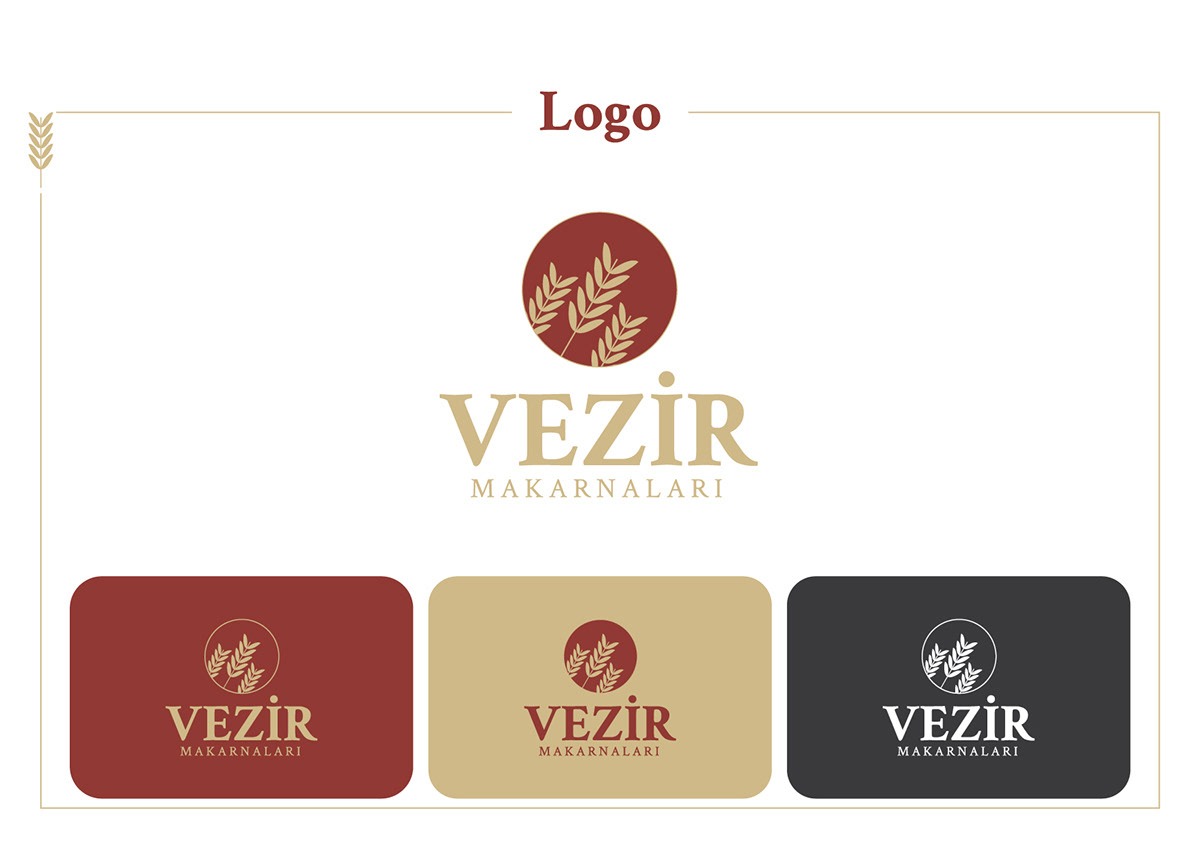 branding  package Pasta vezir Packaging makarna marka ambalaj kurumsal kimlik