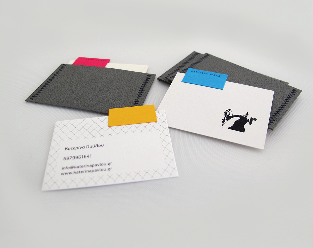 10 business cards on Behance