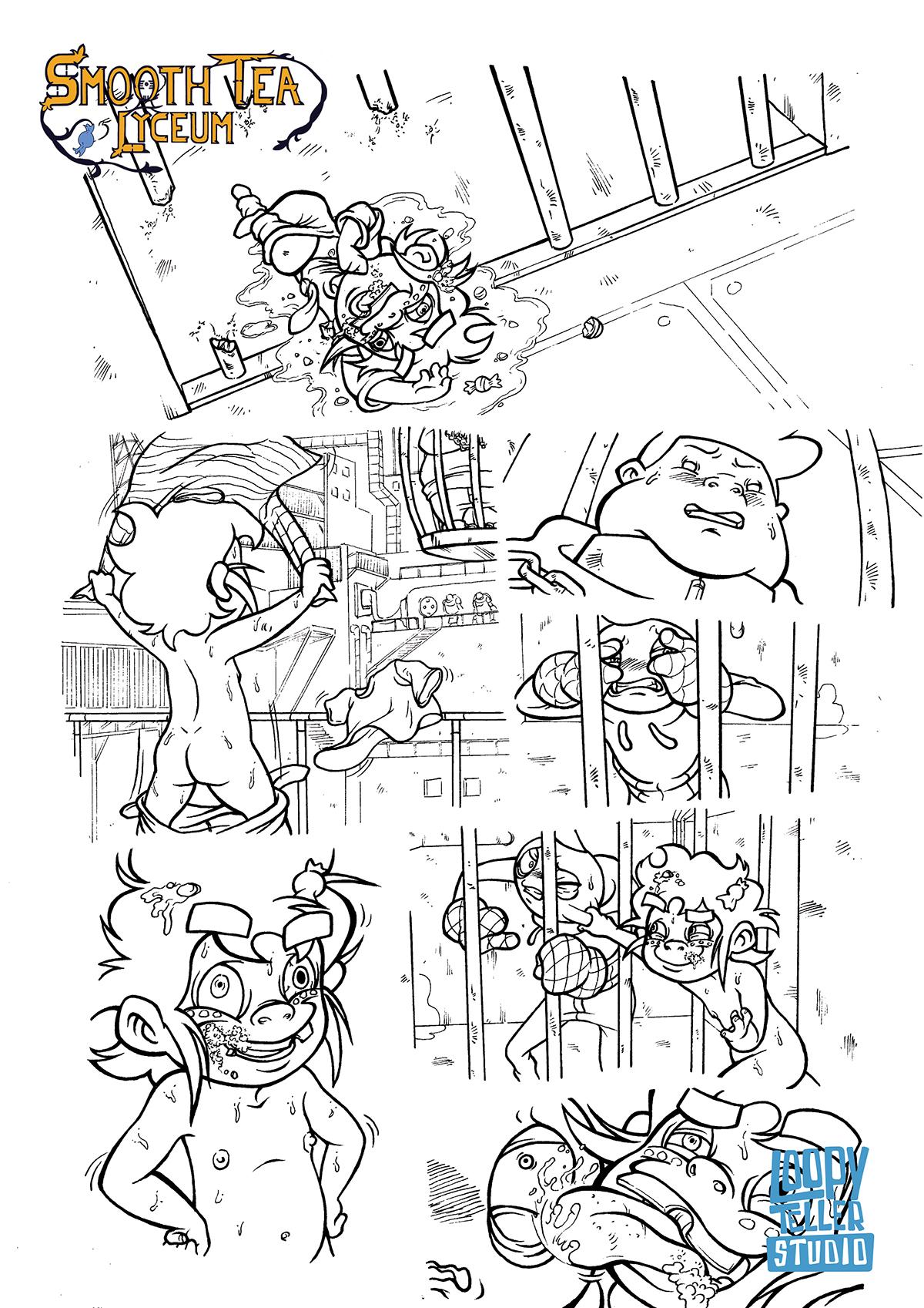 SmoothTeaLyceum comic LoopyTellerStudio stl
