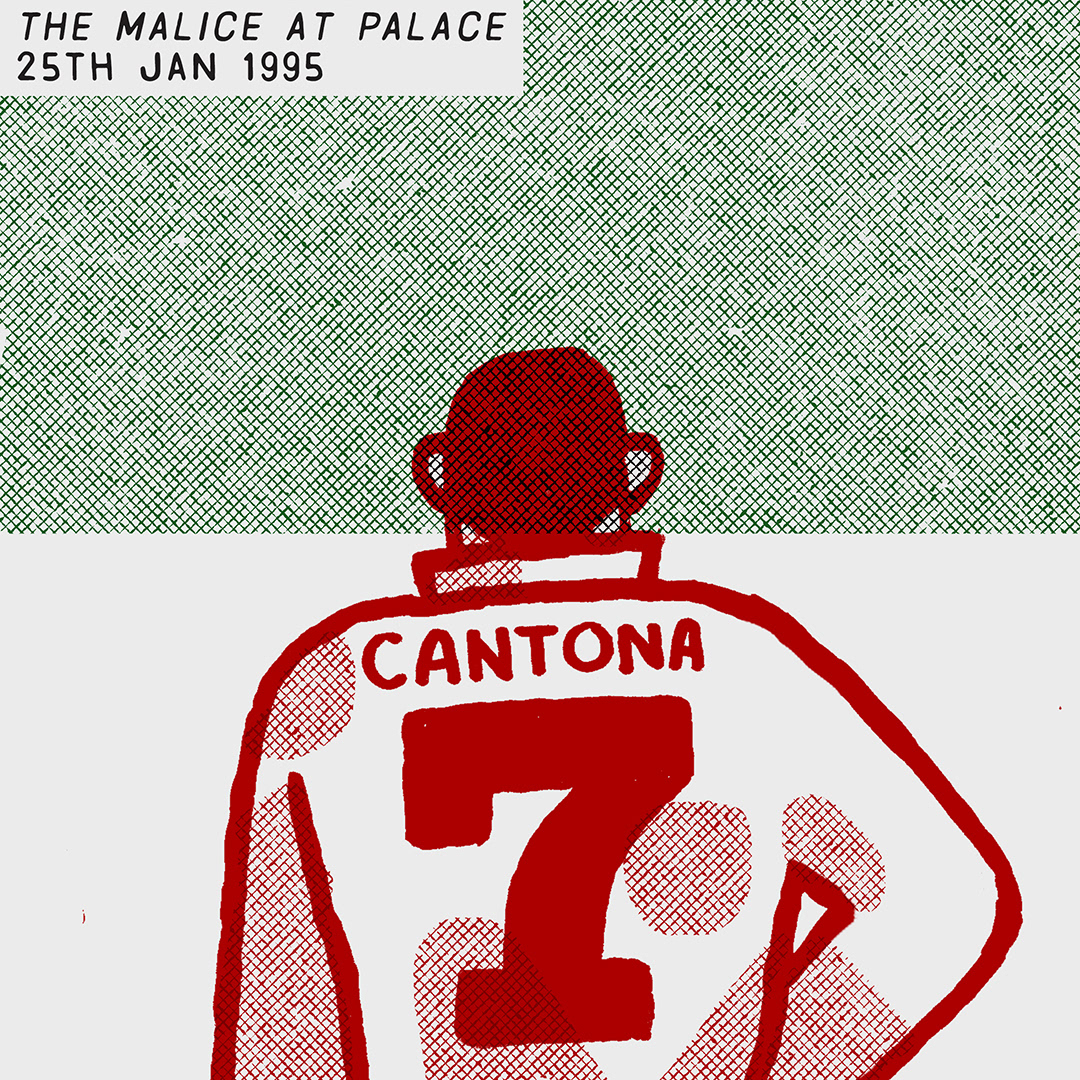 Crystal Palace epfl eric cantona fight football Manchester United soccer