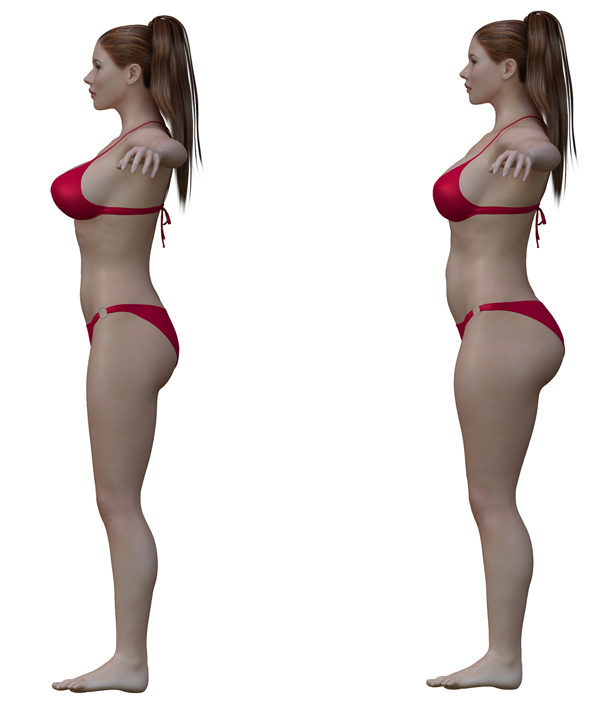 ideal to real what the perfect body really looks like - HD1200×1382