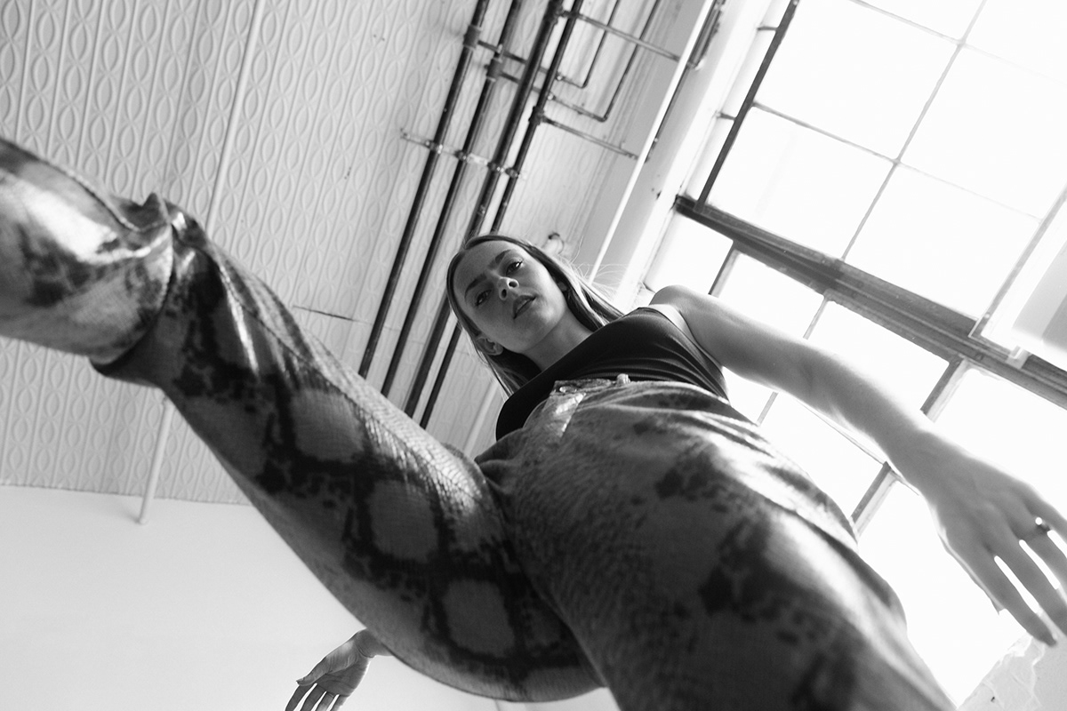 action Brooklyn editorial emote emotion Female Model motion movement portrait Studio Photography