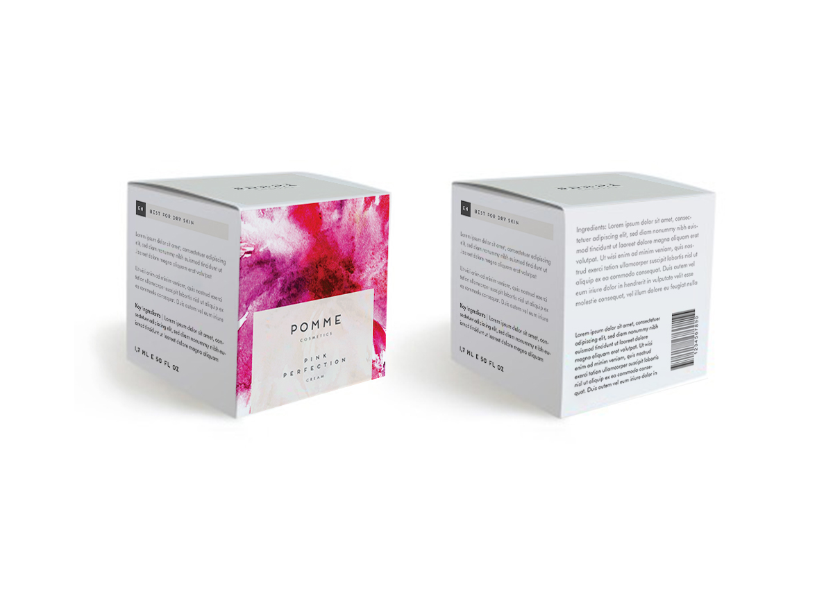 cosmetics packaging design student cosmetic brand design floral colorful watercolor flower beauty elegant visual identity luxury luxury brand luxury packaging