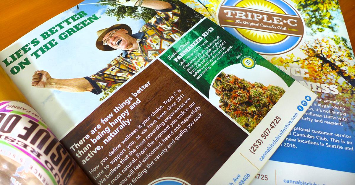 dc9da45c9d Triple C Magazine Advertisements   Messaging on Behance