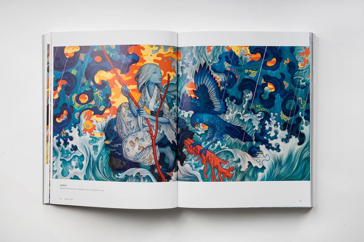 asian,art,ILLUSTRATION ,painting  ,book,graphic design