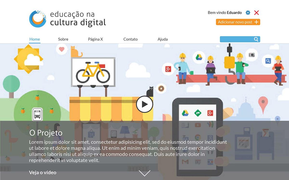 educação cultura digital mídia social Education Digital Culture
