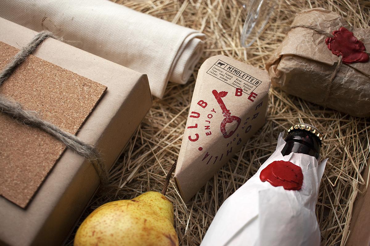 beer key craft Cheese Food  box handmade gastronomic
