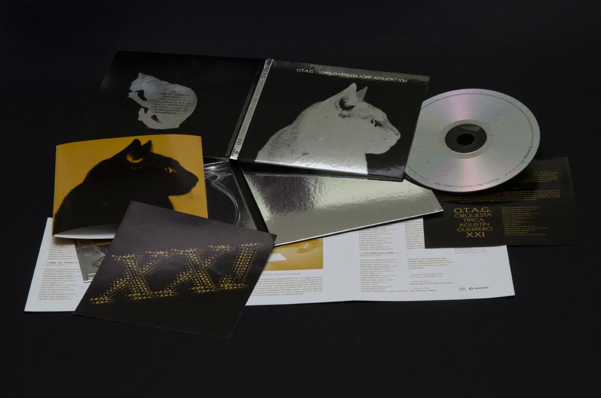 tango Cat otag argentina mirror artwork rompo pontenpie cd disc record Deluxe edition kitty