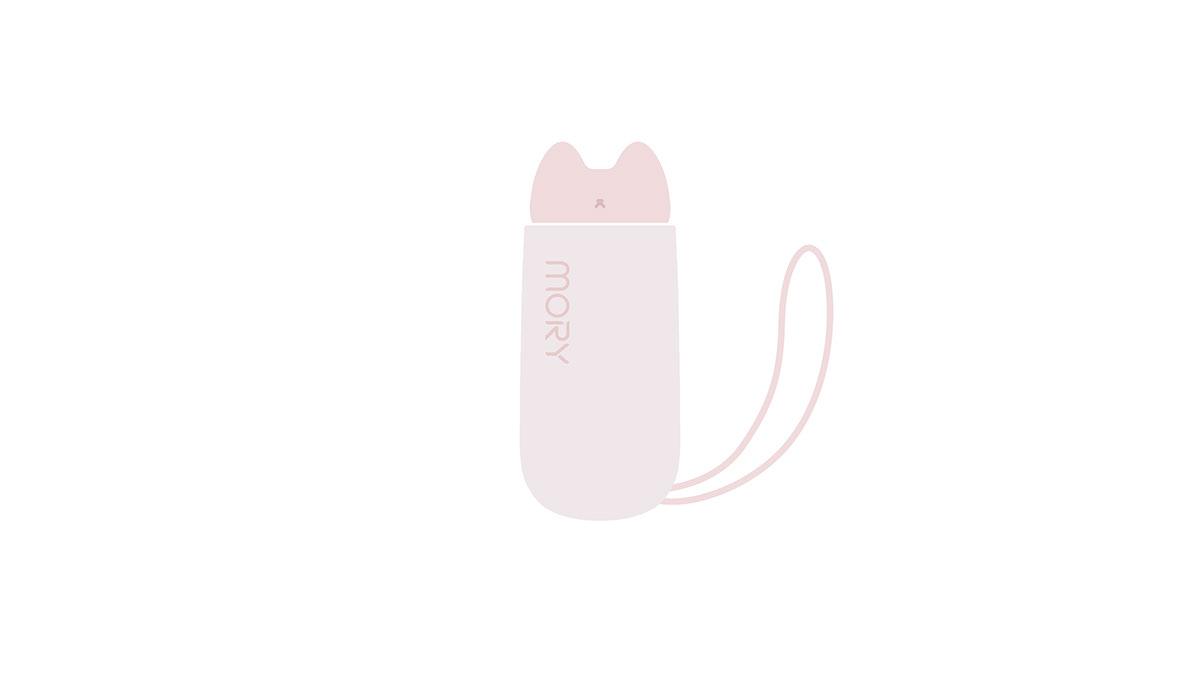 Cat cute fascia gun female innovation Massager Massage Gun