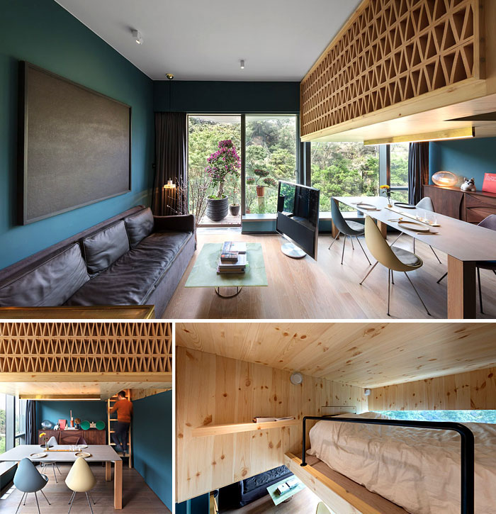 Studio Apartment Home: 50 Clever Design Ideas For Small Studio Apartments On Behance