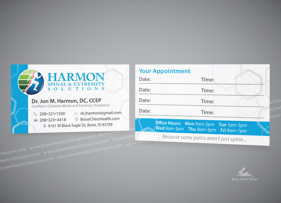 Case Study: Chiropractic Clinic Materials on Behance