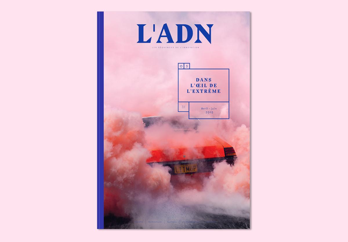 ADN n°3 on Behance | Editorial design, Magazine layout