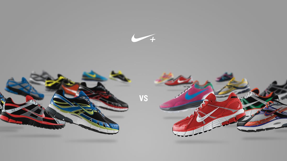Nike nike challenges Nike+ design nike japan loworks