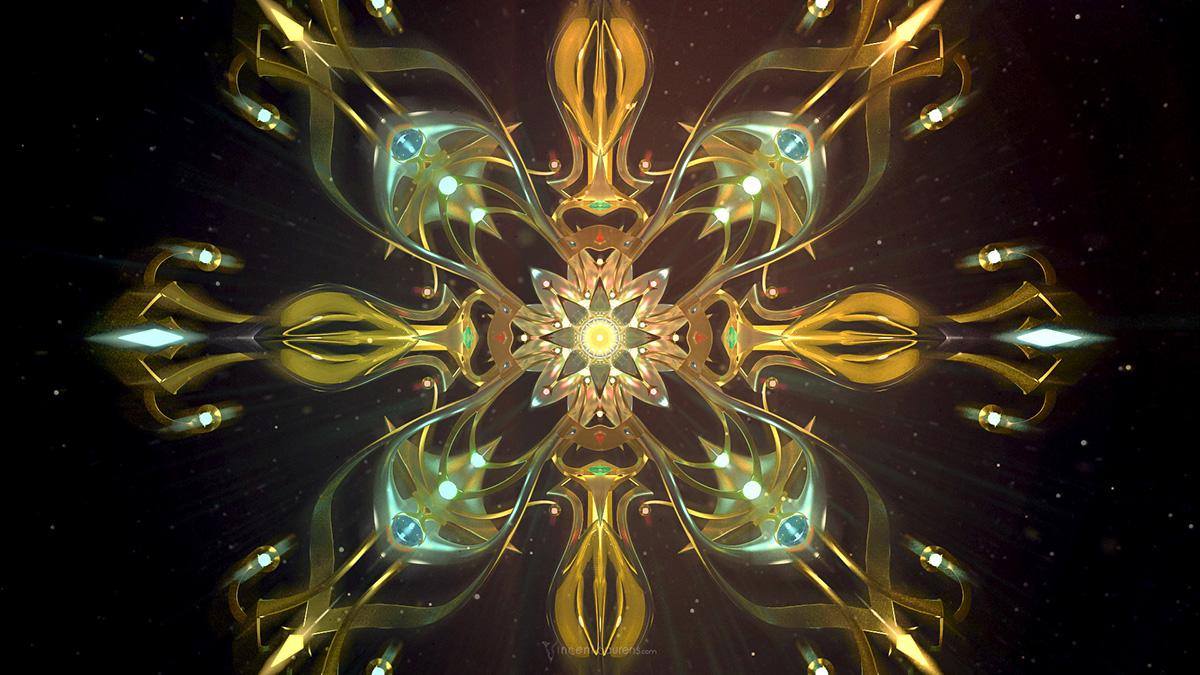 vector design abstract post-production pyschedelic oniric imagination vincent baurens
