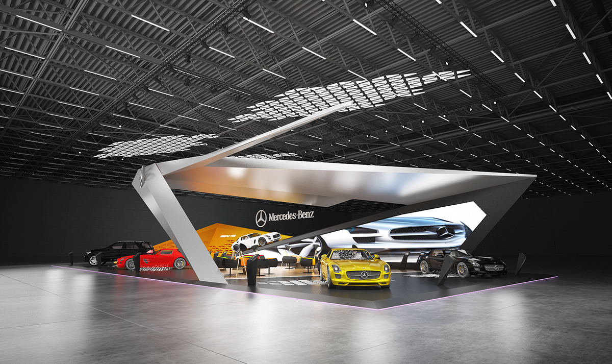 Mercedes-Benz Exhibition Stand Design