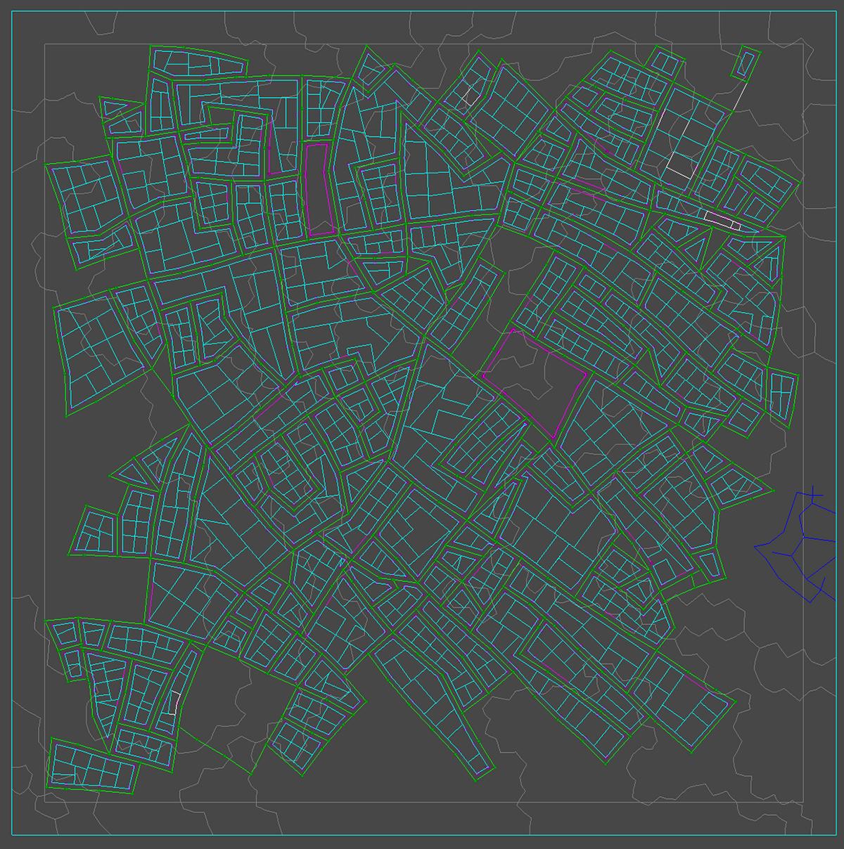 Procedural Tower Cities on Behance