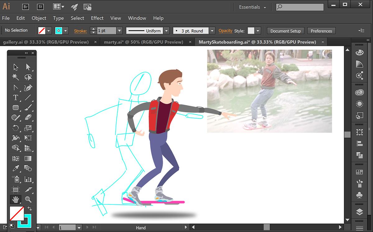 animate graphic