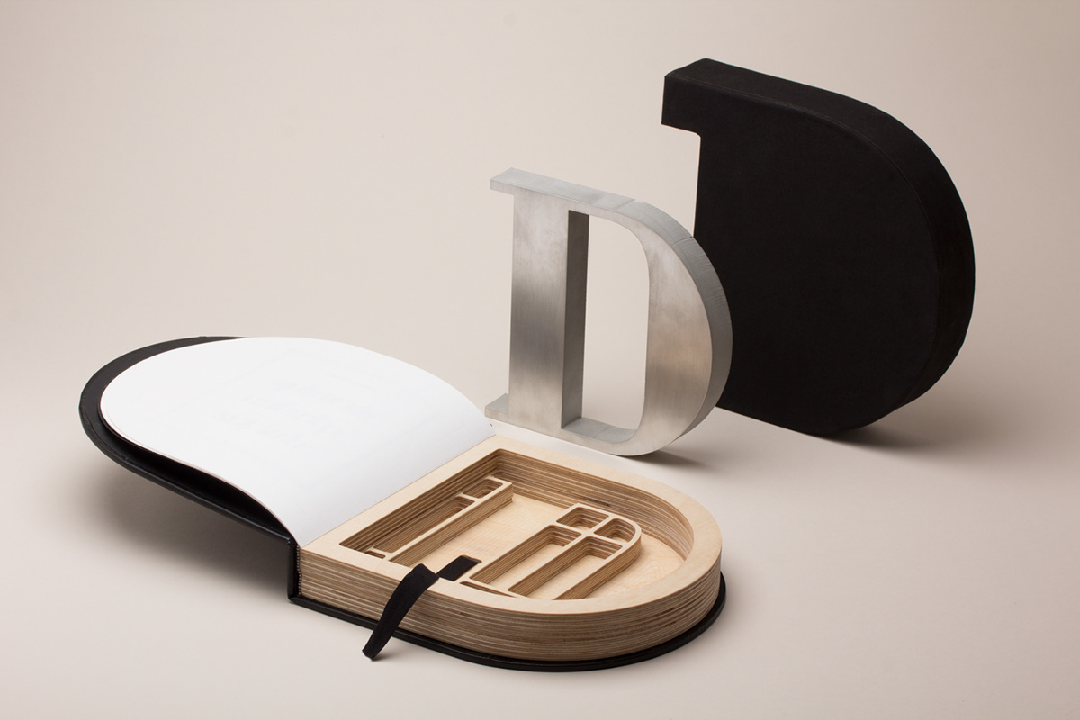 paper bodoni letter typography   Packaging creative inspire