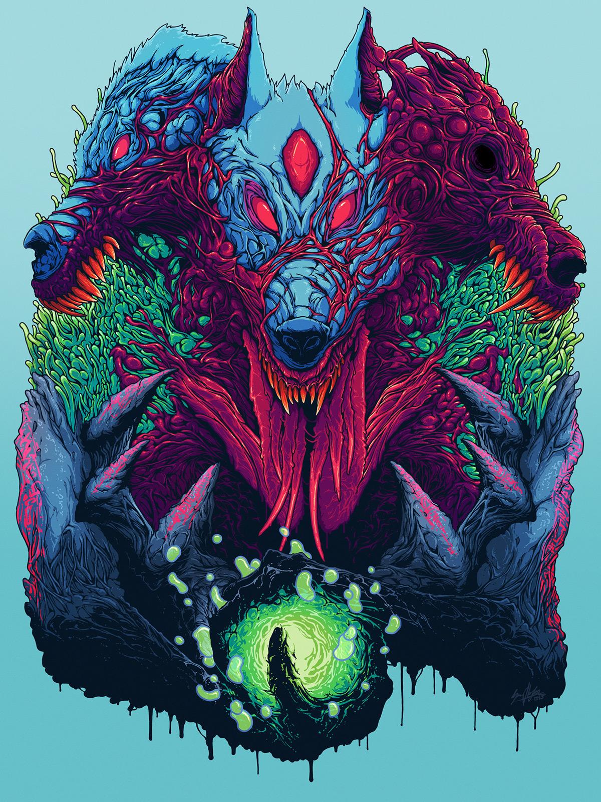 Hyper Beast Wallpaper : iWallpaper