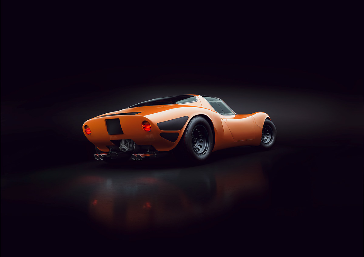 Alfa Romeo Tipo 33 Stradale Cgi On Behance