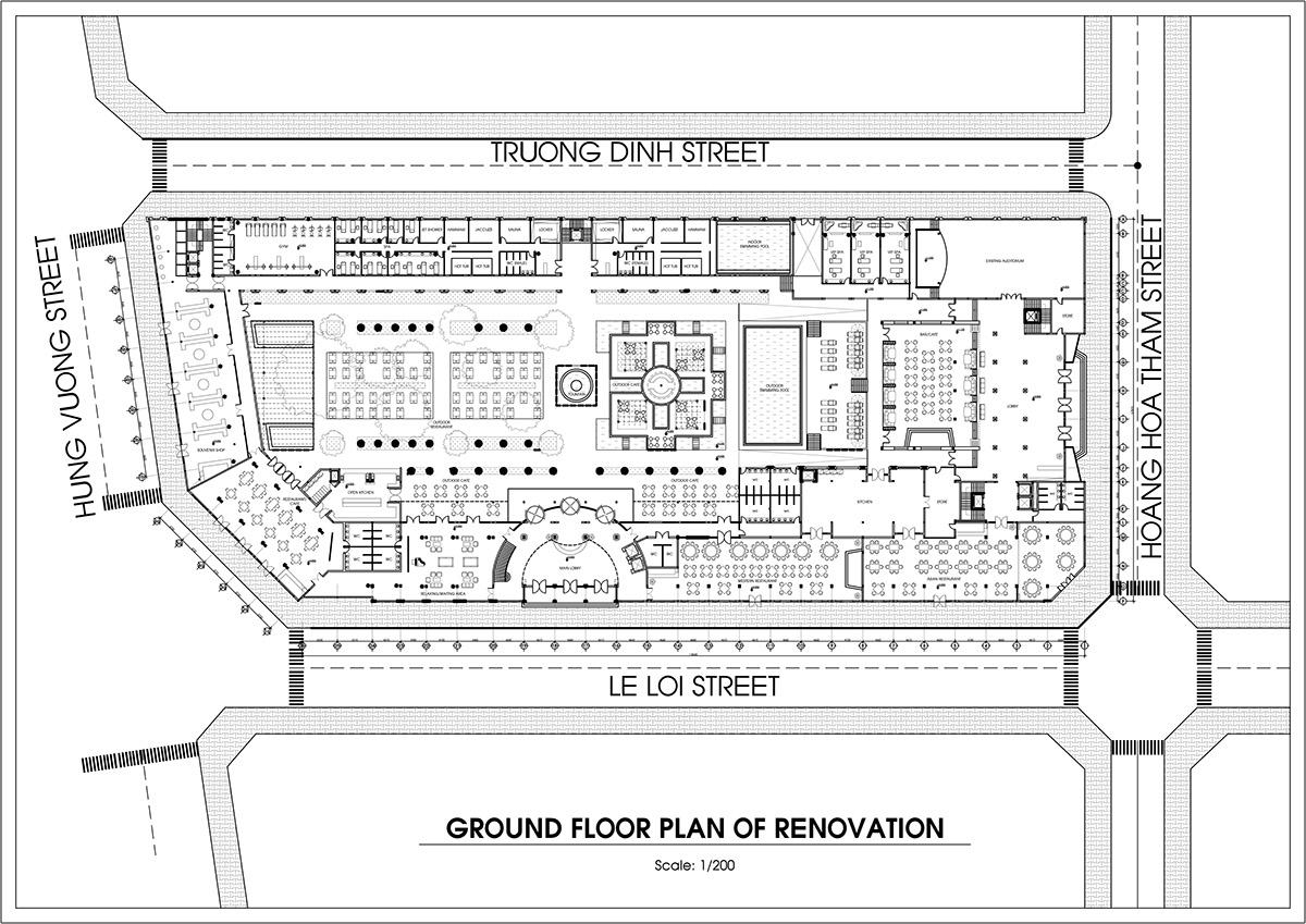 River City Floor Plans Morin 5 Star Hotel Hue Vietnam 2013 On Behance
