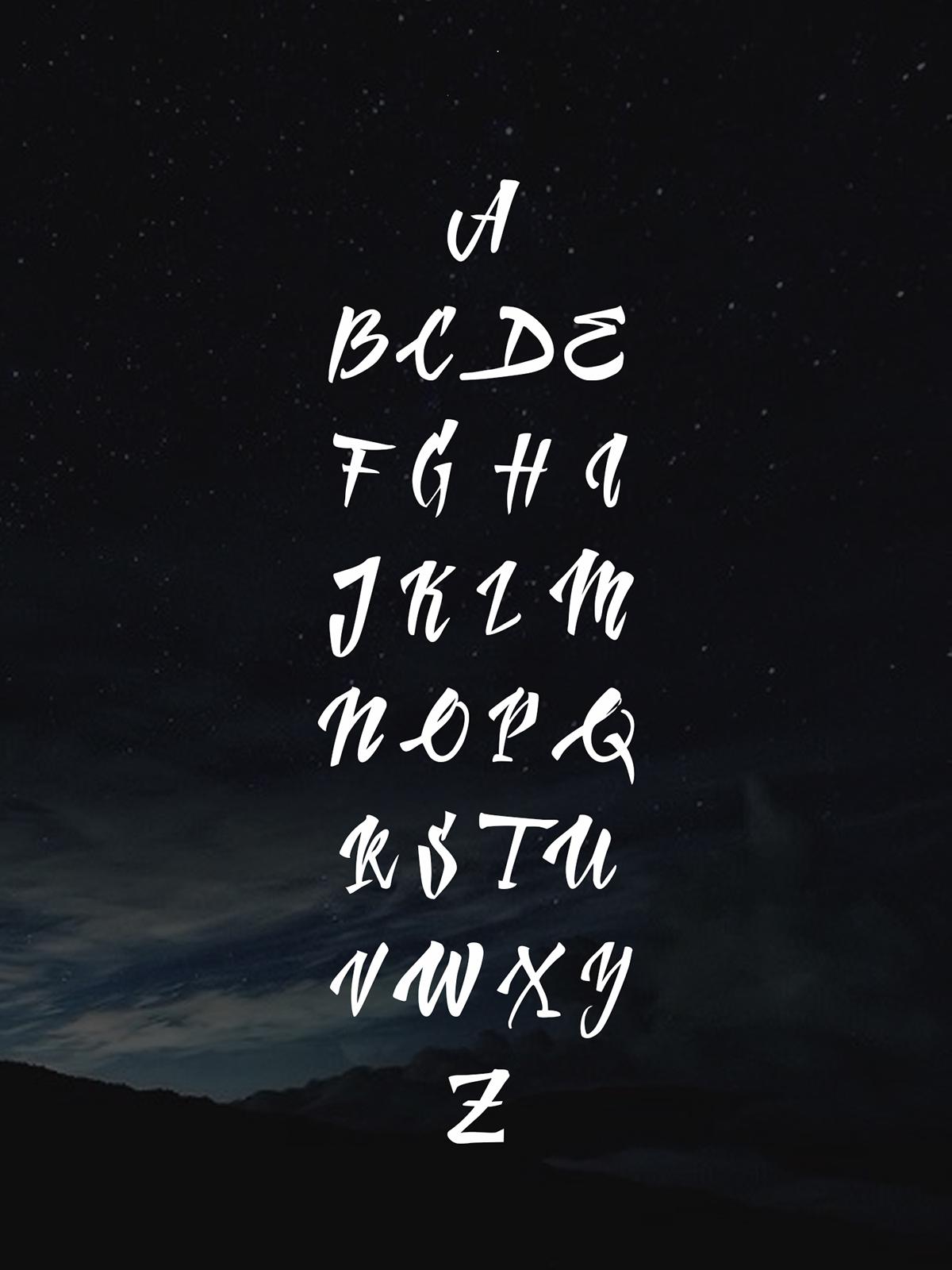 free,font,lettering,koggio,sashakoggio,hadletter,Handlettering,brushpen