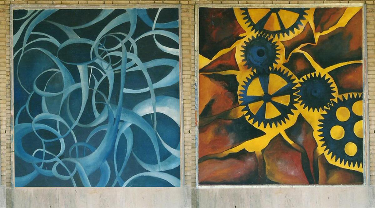 murales wall painting   Pintura mural