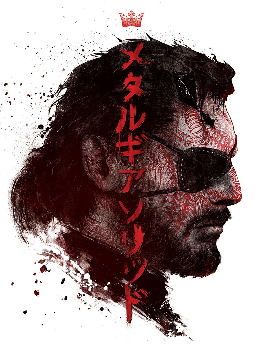 metal gear solid on behance