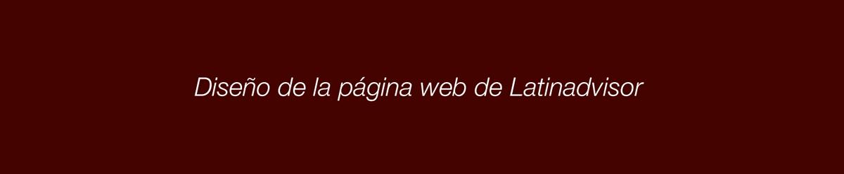 Diseño web interfase Responsive UI ux Web