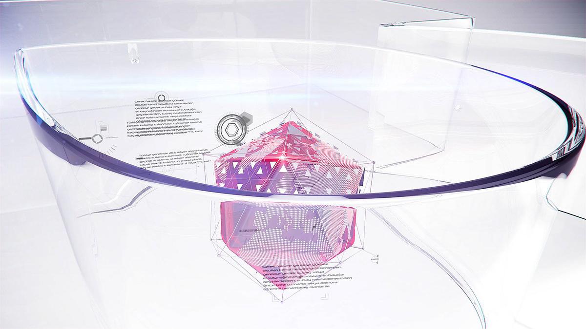 Adobe Portfolio news opener news ajans jenerik intro world broadcast tv Channel Ident ID