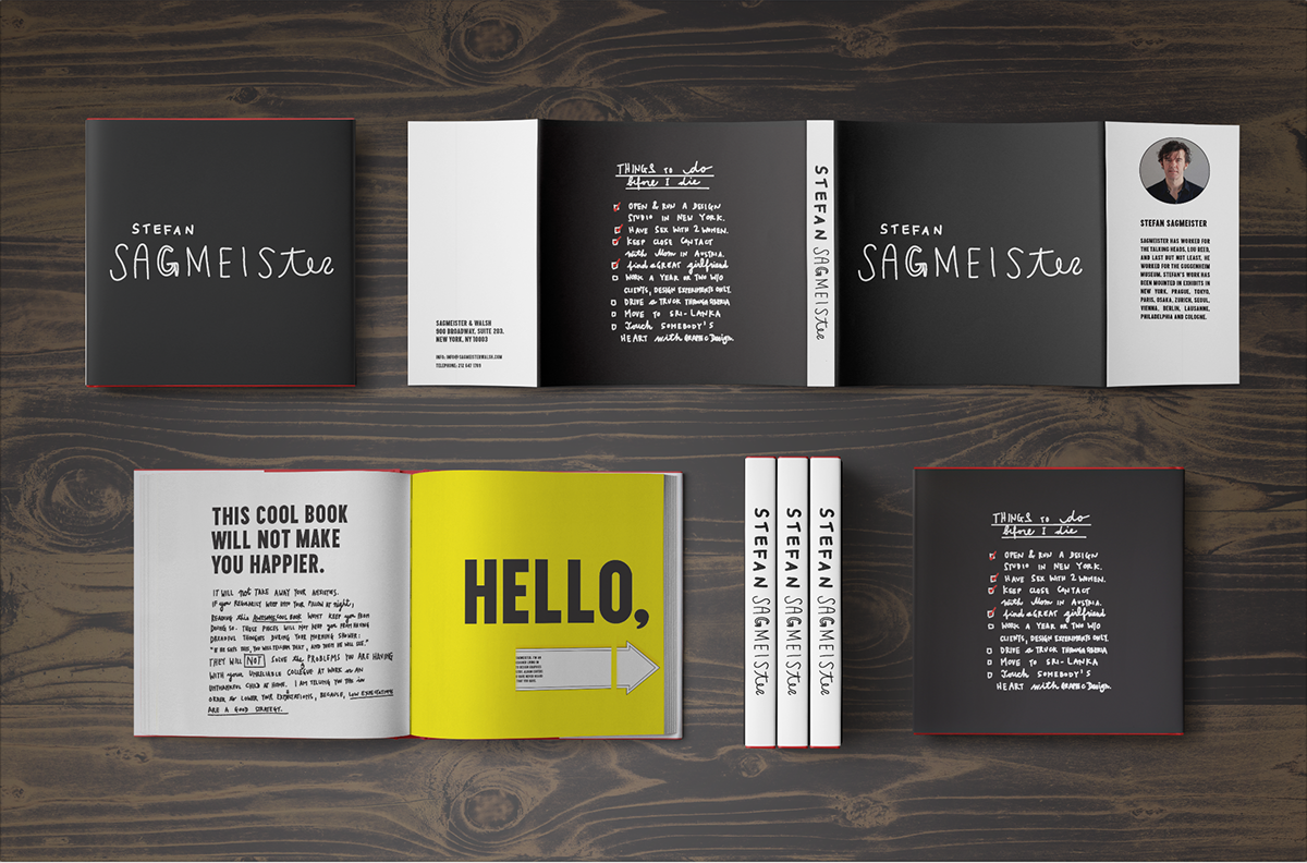 annotated bibliography stefan sagmeister Write a 1500 word essay that expresses, in your own words, a story about two designers who meet and converse about their work in a brief but entertaining conversation.